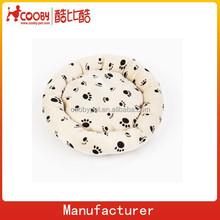 pet accessories paw print pet bed mattress