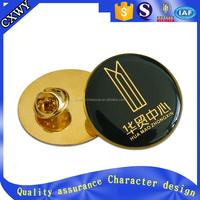 epoxy pin badge with design logo as souvenir item