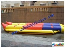 2012 best quality Double line Banana water boat (BOAT-99)
