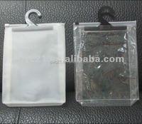 High quanlity EVA zipper bag with zipper or slider for garments