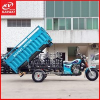 Guangzhou China tricycle cargo bike / 3 wheel motor scooter / three wheel motorcycle rickshaw tricycle