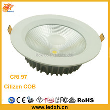 high CRI 97 HIgh power 15W Ci-tizen COB LED downlight Ce RoHs