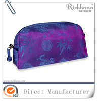 2016 hot Christmas personalized purple beaded cosmetic bag
