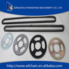 high standard motorcycle spare parts for India, best bajaj pulsar 180 motorcycle chain kit