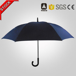 Straight advertising automatic umbrella for gifts publicity