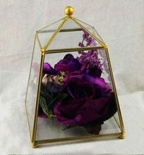 table top terrarium glass greenhouse ball/hanging ball glass with metal frame