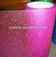 Glitter Car Full Body Self-adhesive Vinyl Stickers 1.52m*30m PVC material