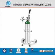 TPED/DOT 0.5L Small Portable Medical O2 Aluminum Gas Cylinder