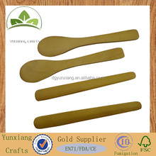 wooden skin cream stick wooden spatulas