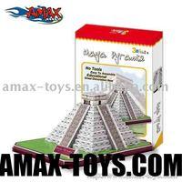 3dp-c073h Mayan Kukulcan Pyramid(Mexico)