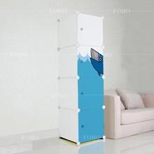 4 boxes promotion use DIY cartoon door magnet door storage cabinet cases(FH-AL0017-4M)