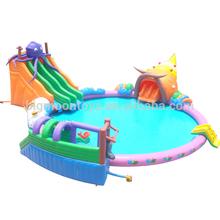 Caliente 2015 diversión los niños gigante inflable del agua parque, parques de atracciones hinchables