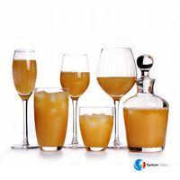 Samyo Glassware Manufacturer Handmade wine glass crate