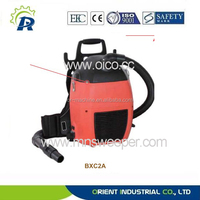 Function wet and dry circulating air cooling back pack heavy duty industrial vacuum cleaner