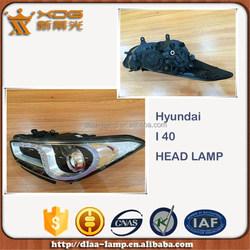 auto spare accessories Korea car lamp parts, car headlight, i40 car head light