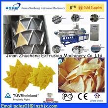 Automatic corn Triangle Chips puffed Extruder machine