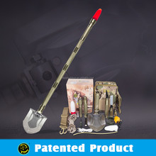 Car emergency tool /Multifunction shovel with warning light and car repair function