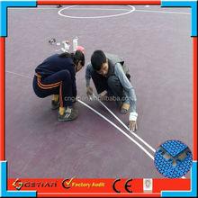 indoor/outdoor price court floor basket ball professional
