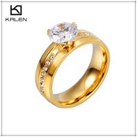 dubai wedding 24k yellow gold plated ring jewellery designs