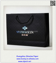 factory sale customized design promotional jewelry advertising paper bag