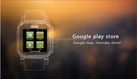 SNOPOW W1S 3G transflective screen IP68 waterproof android 4.4 dual core 1G RAM 8G ROM hebrew language u8 smart watch
