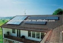 swimming pool pressurized solar collector with heat pipe