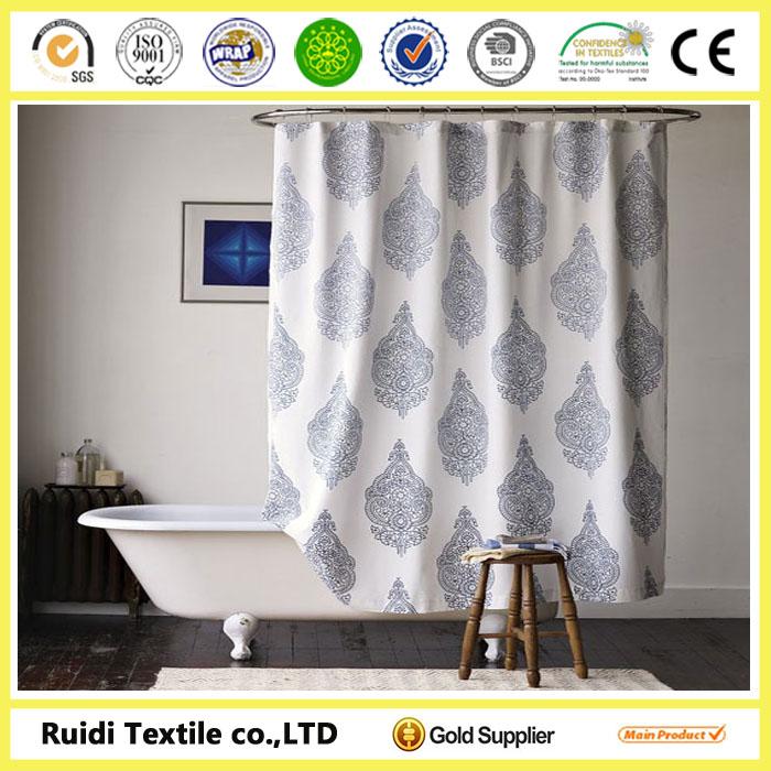 Led Shower CurtainShower Curtain With Bath Rug SetsAdjustable