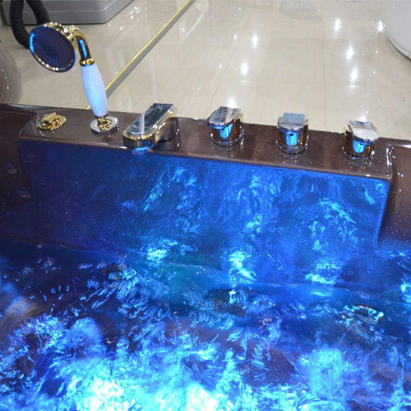HS-B219 1.5m bathtub/ corner massage bathtub/ best massage bathtub
