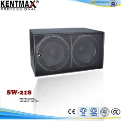 modern style concert stage speakers subwoofer SW-218