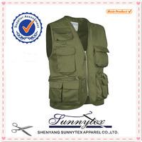 Sunnytex Chinese made Hot Custom Multi Pocket Highest quality Fly Fishing Vest