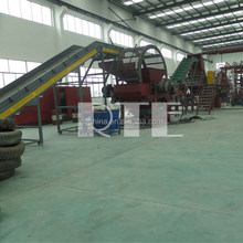 Waste Tyre Recycling Production Line output one tone per hour