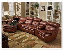 Hot Sales recliner sofa sleeper couch LS-602A leather sofa