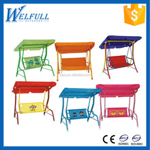 Wholesale Fabric Folding Three Person Garden Outdoor Canopy Swing
