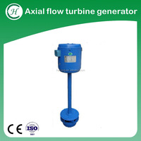 Axial flow water powered generators home use/ Small water powered generators home use