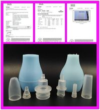 2015 newest soft baby care waterproof baby nasal aspirator