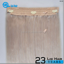 Best Sellers Fashion 2015 Quality Product Easy To Care halo hair extension flip in hair