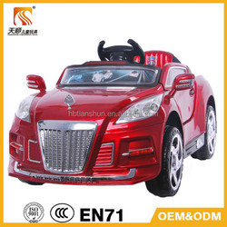 Remote Control Car China Factory Children Electric Car Plastic Battery Car for Children