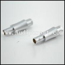 Hifi diy pin adaptad Sennheiser için hd- 800s( g) HD800 altın kaplama HD800 kulaklık güncelleme