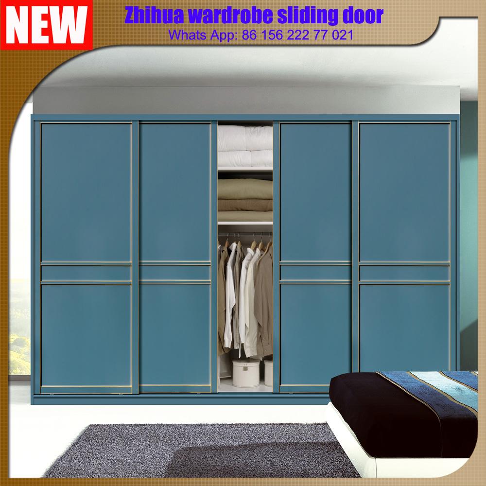 Zhihua New Modern Design 3 Door Closet Bedroom Wardrobe Sliding Door