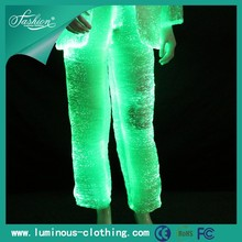 Alibaba hot sale special material fabric optic fiber new style boys pants