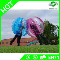 2015 Grazy Ball Game!! Amazing 100% PVC/TPU body bumper ball, inflatable buddy belly bumper ball, costume de bulle