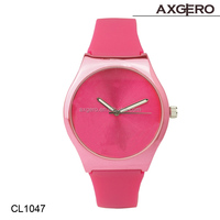 2015 popular fashion wrist watches,china silicon watch ,quartz stainless steel back watch