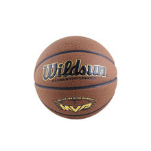 top quality pure cow leather basket ball