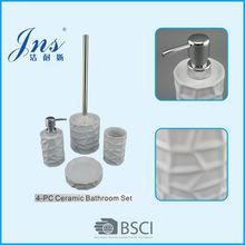 Elegant design ceramic accessories for bathroom