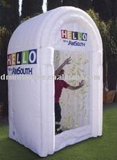 inflatable booth money