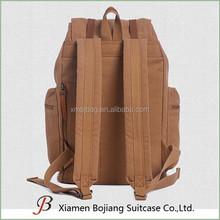 canvas shoulder leisure travel backpack bag