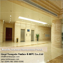 Factory Supply Hotel Wall Decorative plastic exterior wall decorative panel