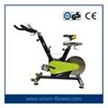 New Heavy Duty rotação volante bicicleta de exercício ajustável para Home Gym Fitnessspin bicicleta