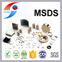 High quality Arc ndfeb magnet for Motor