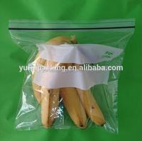 Fruit packed in ziplock bag